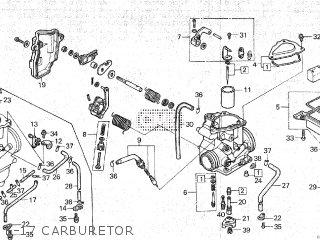 Honda TRX250 1986 (G) parts lists and schematics