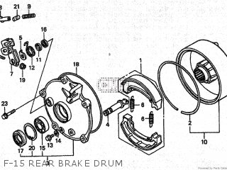 Honda TRX250 2001 (1) parts lists and schematics