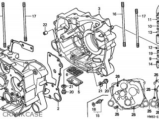 Honda Trx250 Fourtrax 1998 (w) Usa parts list partsmanual