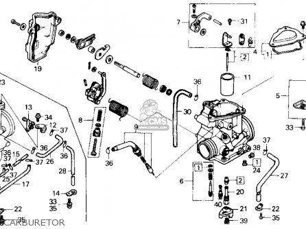 Honda Trx 250 Carburetor Schematic. Honda. Wiring Diagram