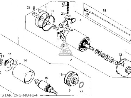 Honda TRX250 FOURTRAX 250 1985 (F) USA parts lists and