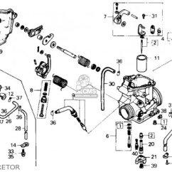 Honda Fourtrax 250 Carburetor Diagram Nissan Almera Tino Radio Wiring Trx250 1986 (g) Usa Parts List Partsmanual Partsfiche