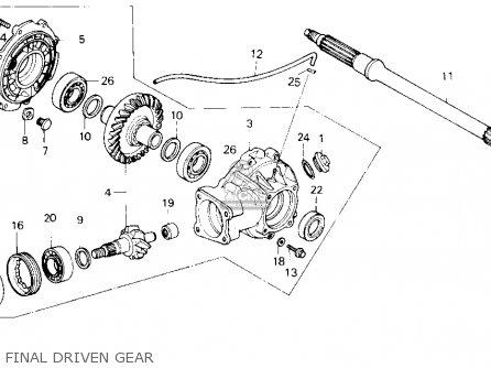 Wiring Diagram For Honda Trx250 Oil Filter For Honda