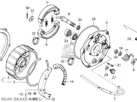 Honda Trx250 Fourtrax 250 1986 Usa parts list partsmanual