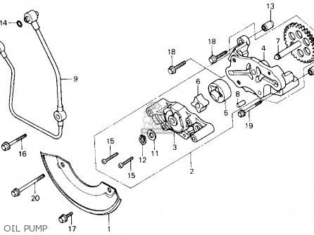 Honda Trx250 Fourtrax 250 1987 Usa parts list partsmanual