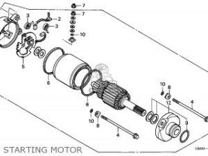 Honda TRX250 RECON 1999 (X) AUSTRALIA TH parts lists and schematics