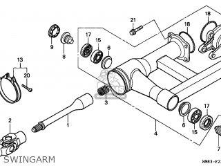 Honda TRX250 RECON 1999 (X) AUSTRALIA TH parts lists and