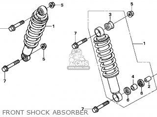 Honda TRX250EX 2002 (2) USA parts lists and schematics