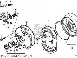 Honda TRX250EX SPORTRAX 2002 (2) USA parts lists and