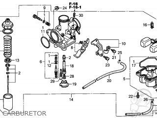 Honda TRX250EX SPORTRAX 2008 (8) AUSTRALIA parts lists and