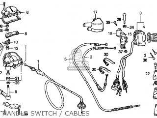 Honda TRX250 FOURTRAX RECON 1997 (V) USA parts lists and