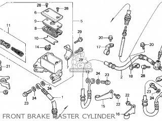 Honda Trx250 Fourtrax Recon 1998 Usa parts list