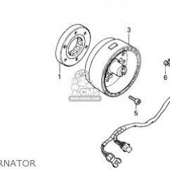 Honda Recon Carburetor Diagram Porsche 911 Wiring 1970 Trx250 Fourtrax 1998 (w) Usa Parts List Partsmanual Partsfiche