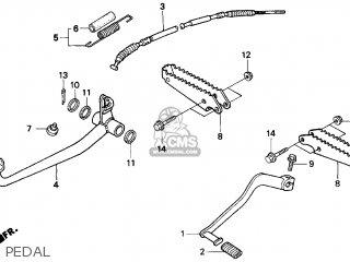 Honda Trx250 Fourtrax Recon 1999 (x) Usa parts list
