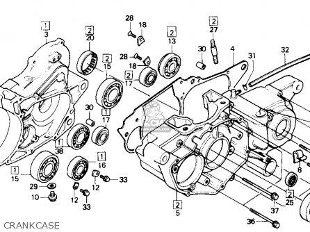 Honda Trx250r Fourtrax 250r 1986 (g) Usa parts list