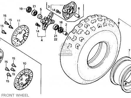 1986 Honda Trx 250 Wiring Diagram On Honda TRX 400 Wiring