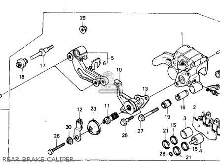 Honda Trx250r Fourtrax 250r 1987 (h) Usa parts list