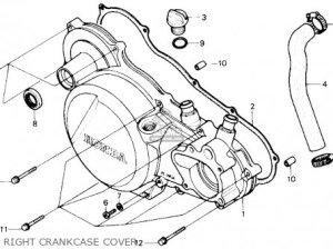 Honda Trx250r Fourtrax 250r 1988 (j) Usa parts list partsmanual partsfiche