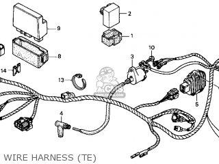 Honda TRX250TE 2002 (2) USA parts lists and schematics