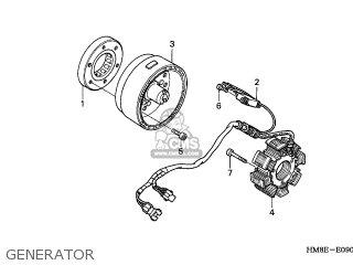 Honda TRX250TM FOURTRAX RECON 2002 (2) AUSTRALIA REF parts