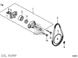 Honda TRX250TM FOURTRAX RECON 2003 (3) USA parts lists and