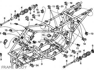Honda TRX250TM FOURTRAX RECON 2004 (4) AUSTRALIA EC parts