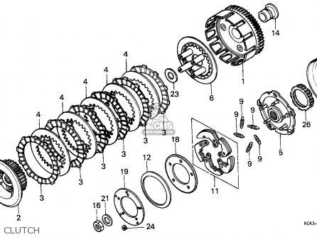 Case 300 Honda Clutch Diagram, Case, Get Free Image About