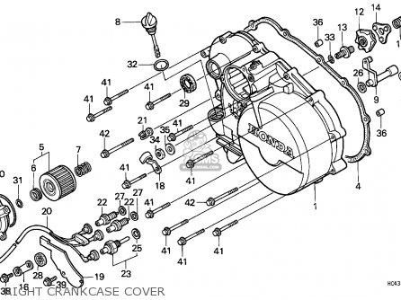 Honda TRX300 FOURTRAX 1988 (J) EUROPEAN DIRECT SALES parts
