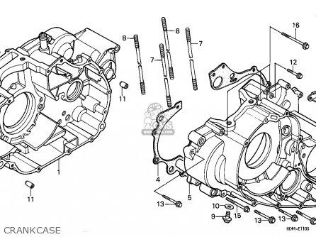 Honda Trx300 Fourtrax 1988 U.s.a (except California) parts