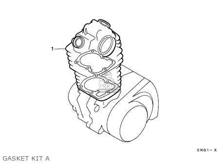Honda TRX300 FOURTRAX 1989 (K) CANADA parts lists and