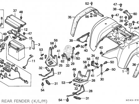 Honda 110 Atv Wiring Diagram, Honda, Free Engine Image For