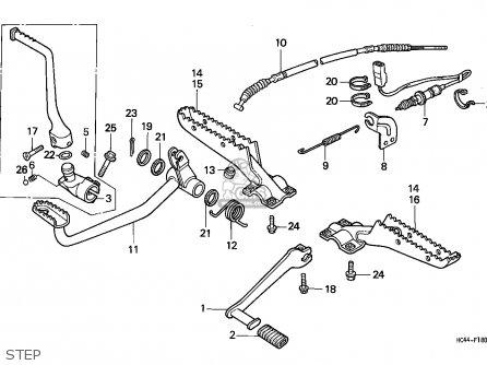 Honda TRX300 FOURTRAX 1989 (K) USA parts lists and schematics