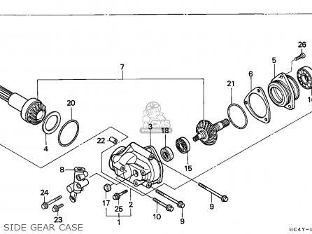Honda Trx300 Fourtrax 1994 Canada Cam Chain Tensioner