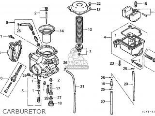 Honda TRX300 FOURTRAX 1994 (R) AUSTRALIA parts lists and