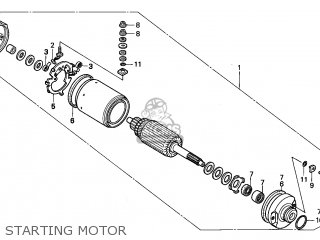 Honda TRX300 FOURTRAX 1997 (V) USA parts lists and schematics
