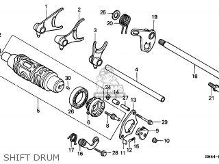 Honda TRX300 FOURTRAX 1999 (X) USA parts lists and schematics