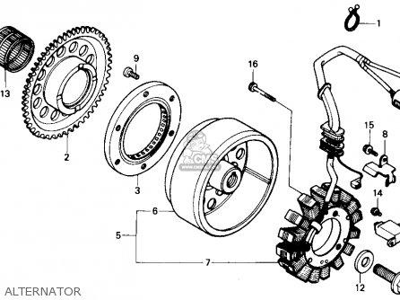 Honda Trx300 Fourtrax 300 1989 (k) Usa parts list