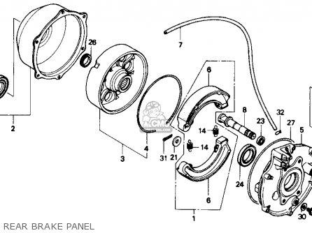 Honda Trx300 Fourtrax 300 1989 Usa parts list partsmanual