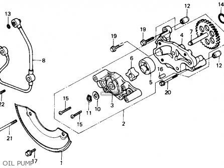 Honda Trx300 Fourtrax 300 1990 (l) Usa parts list