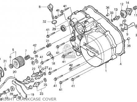Honda Trx300 Fourtrax 300 1993 Usa parts list partsmanual