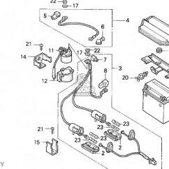 Honda Trx 300 Wiring Diagram Keep It Clean For 1994 Fourtrax Schema Trx300 1995 S Usa Parts Lists And Schematics 250