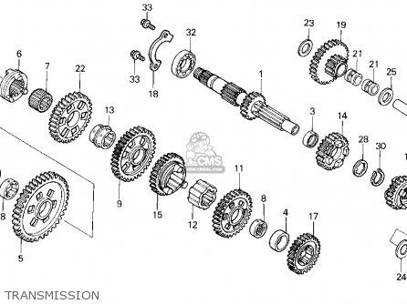 Honda Trx300 Fourtrax 300 1995 (s) Usa parts list