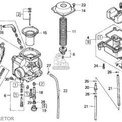 Honda Fourtrax 250 Carburetor Diagram E38 Stereo Wiring Trx300 300 1995 Usa Parts List Partsmanual Partsfiche