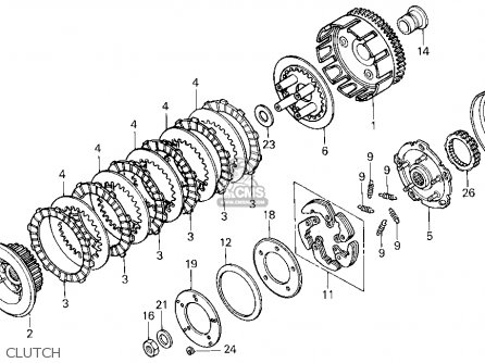 Honda Trx300 Fourtrax 300 1995 Usa parts list partsmanual