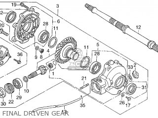 1996 Honda Fourtrax Carburetor Schematics Honda Foreman