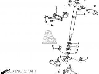Honda TRX300 FOURTRAX 300 1996 (T) USA parts lists and