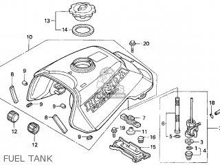 Honda Trx300 Fourtrax 300 1996 Usa Color Tables Trx300 97