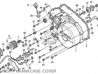 Honda Trx300 Fourtrax 300 1997 Usa parts list partsmanual