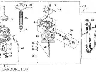 Honda Trx300 Fourtrax 300 1999 (x) Usa parts list