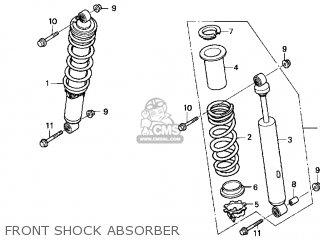 Honda TRX300EX 2004 (4) USA parts lists and schematics